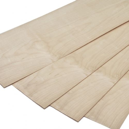 "Maple - Canadian Set of 4 leafs: 22"" x  7""( 56 x 18 cm )"